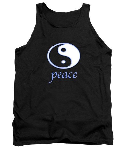 Peace Tank Top by Bill Owen