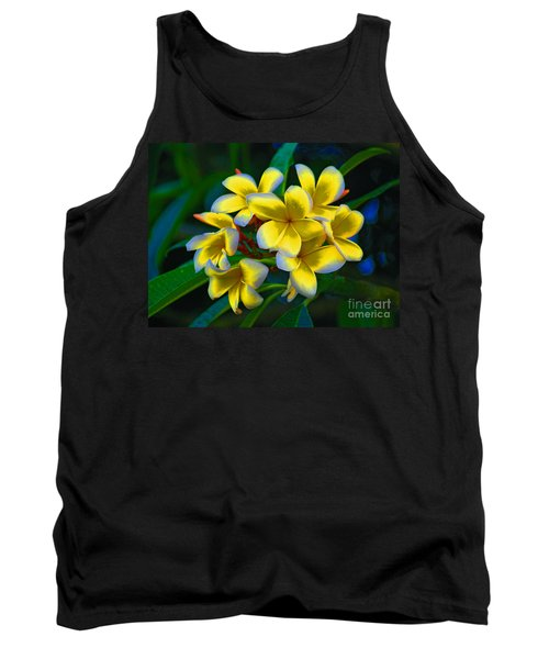 Tank Top featuring the photograph 1- Plumeria Perfection by Joseph Keane