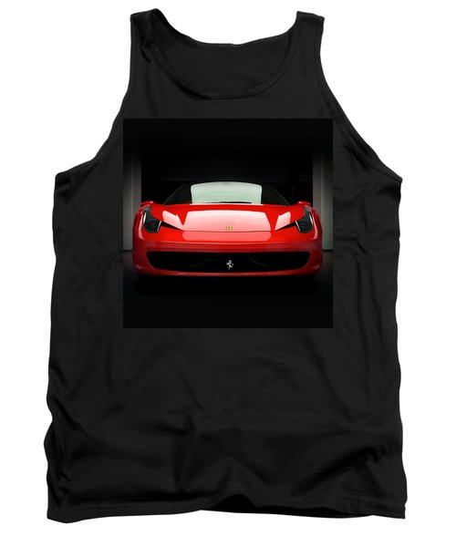 Red Ferrari 458 Tank Top