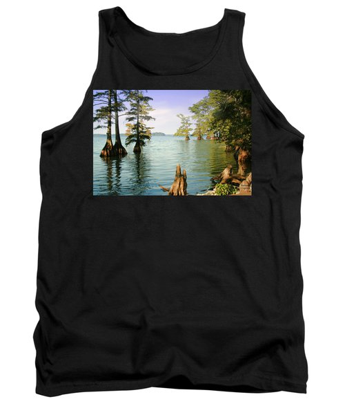 Tank Top featuring the photograph Reelfoot Lake by Bonnie Willis