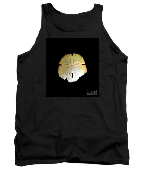 Tank Top featuring the photograph Sand Dollar by Fred Wilson