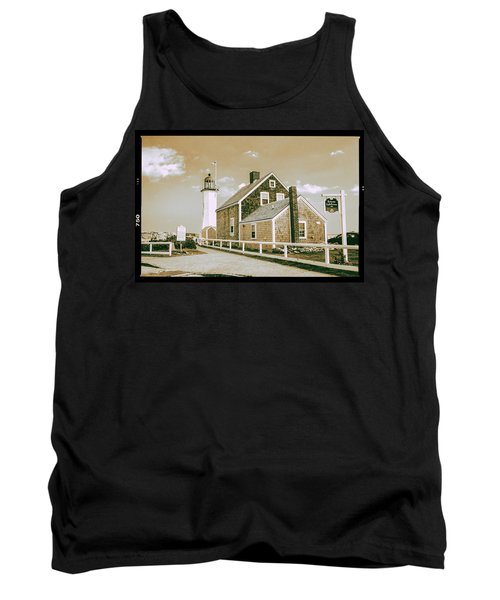 Scituate Lighthouse In Scituate, Ma Tank Top
