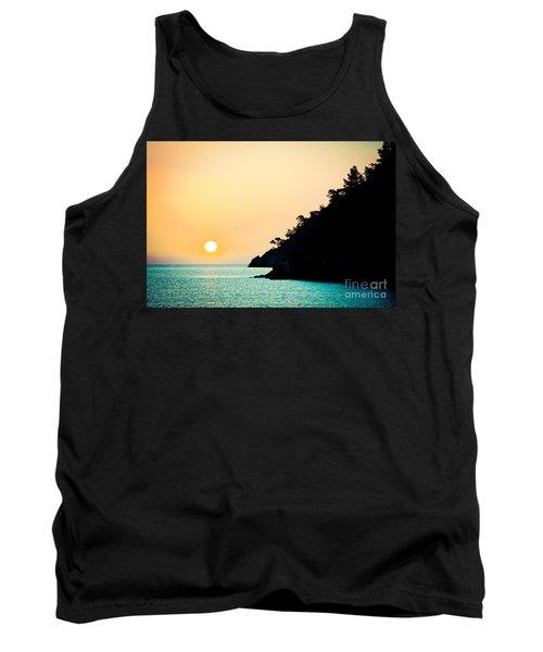 Seascape Sunrise Sea And Sun Tank Top