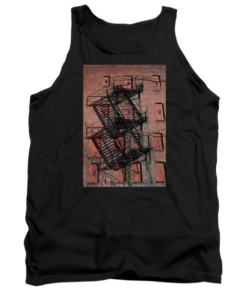 Tank Top featuring the photograph Shadows by Karen Harrison