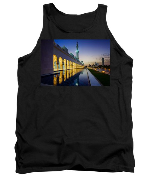 Sheikh Zayed Grand Mosque Tank Top by Ian Good