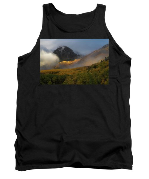 Tank Top featuring the photograph Siever's Mountain by Steve Stuller