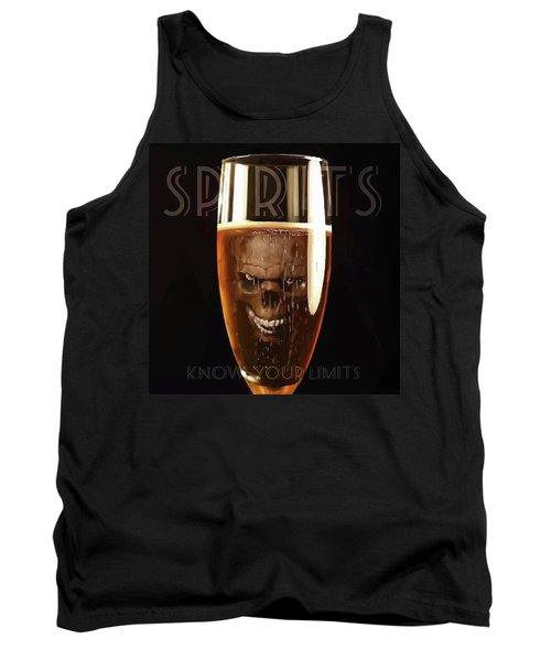 Spirits - Know Your Limits Tank Top by ISAW Gallery