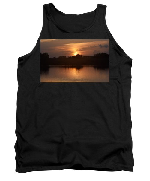 Sunrise On The Bayou Tank Top by John Glass