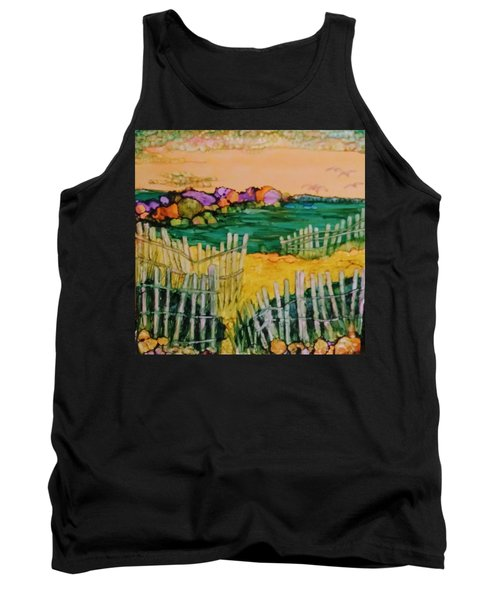 Sunset Beach Tank Top