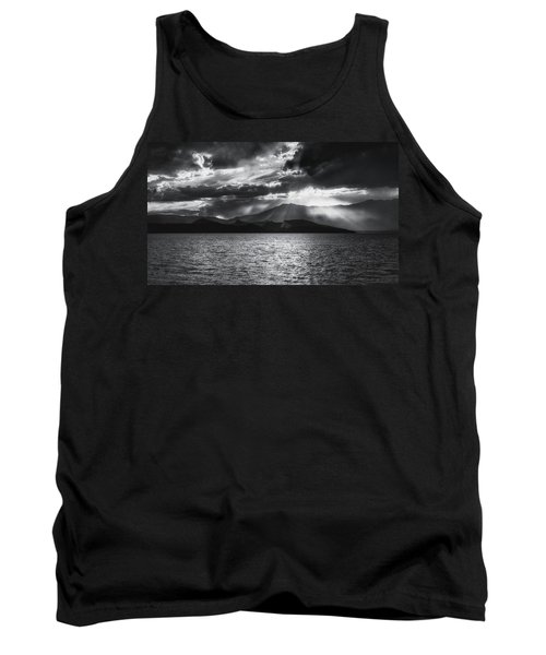 Tank Top featuring the photograph Sunset by Hayato Matsumoto