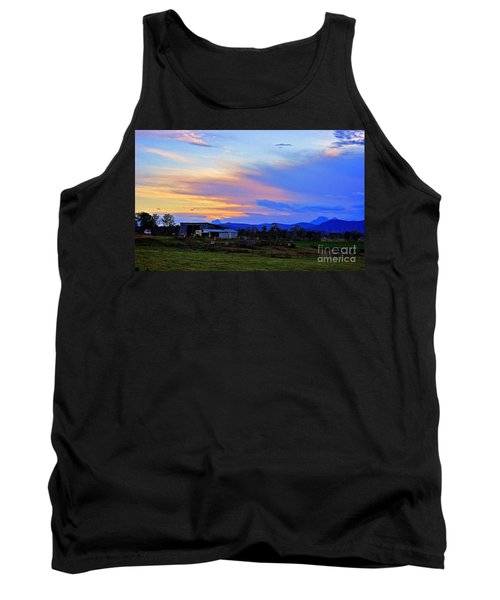 Sunset Over The Great Divide Tank Top by Blair Stuart