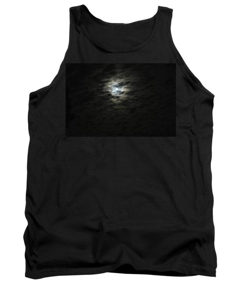 Tank Top featuring the photograph super moon II by Irma BACKELANT GALLERIES