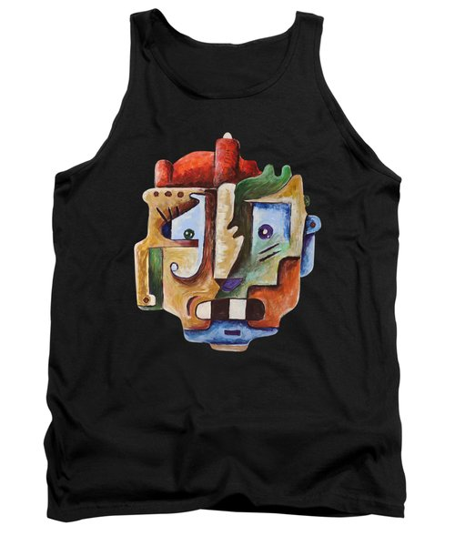Surrealism Head Tank Top