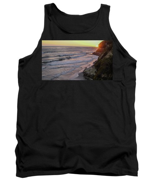 Swamis Sunset Tank Top by Mark Barclay