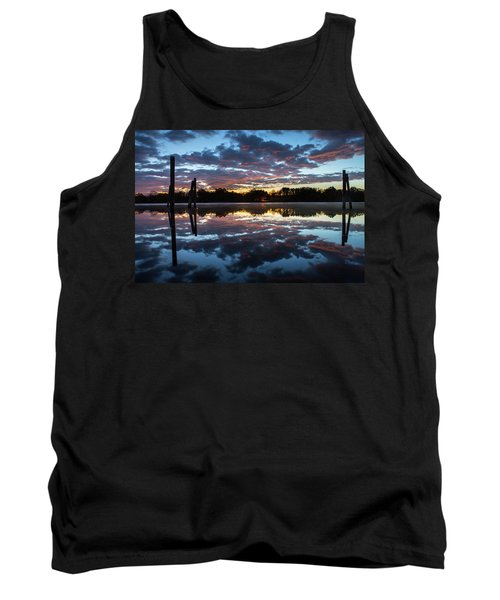 Symetry On The River Tank Top