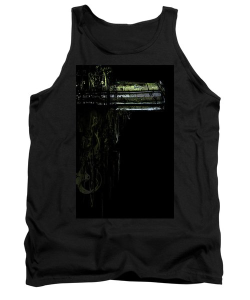 T Shirt Deconstruct Green Dodge Bumper Tank Top