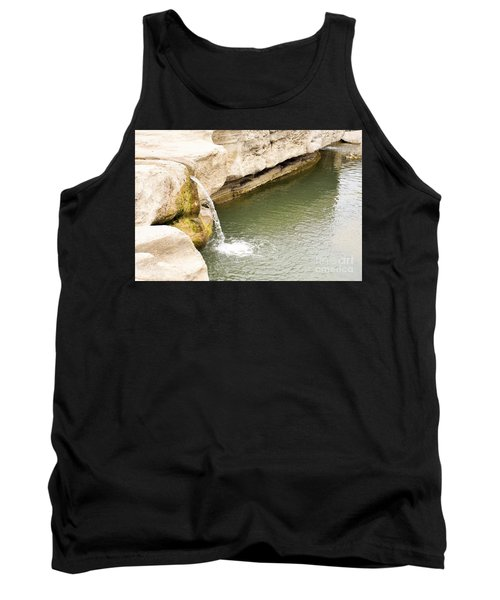 Tank Top featuring the photograph Texas - Mckinney Falls State Park  by Ray Shrewsberry