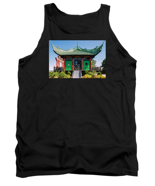 Tank Top featuring the photograph The Chinese Tea House by Sabine Edrissi