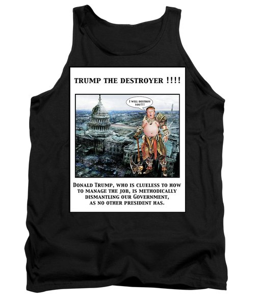 The Destroyer  Tank Top
