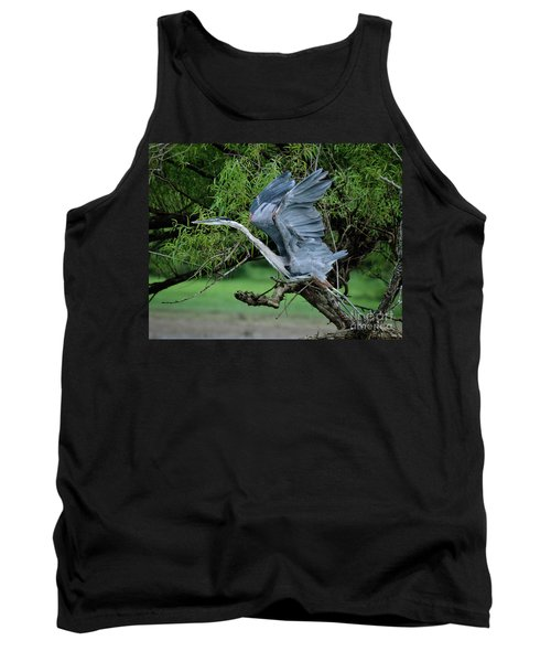 Tank Top featuring the photograph The Launch by Douglas Stucky