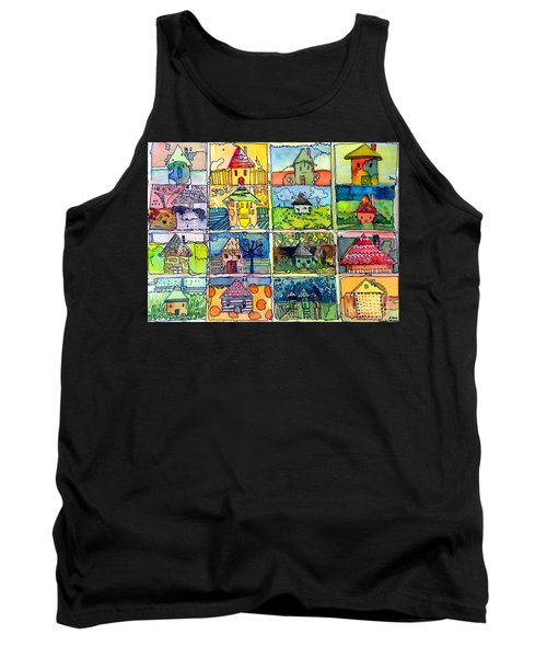 The Little Houses Tank Top