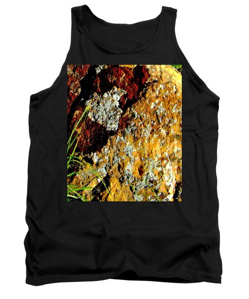 Tank Top featuring the photograph The Rock by Lenore Senior