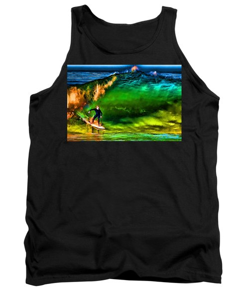 Tank Top featuring the photograph The Shadow Within by John A Rodriguez