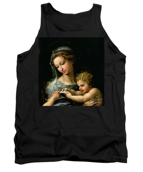 The Virgin Of The Rose Tank Top