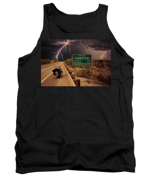 Trouble In Tombstone Tank Top