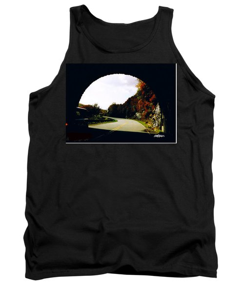 Tunnel Vision Tank Top by Seth Weaver