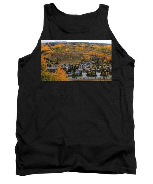 Vail Colorado Tank Top by Fiona Kennard