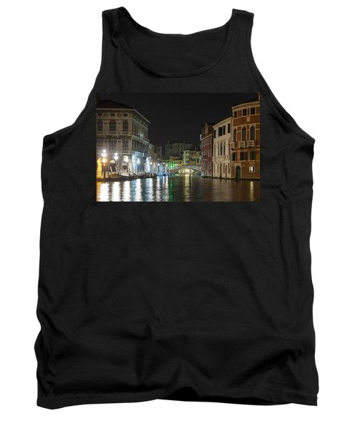 Tank Top featuring the photograph Romantic Venice  by Silvia Bruno