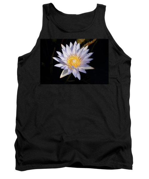 Tank Top featuring the photograph White Water Lily by Steve Stuller