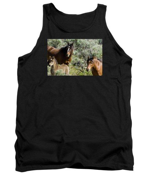 Wild Mustang Herd Tank Top