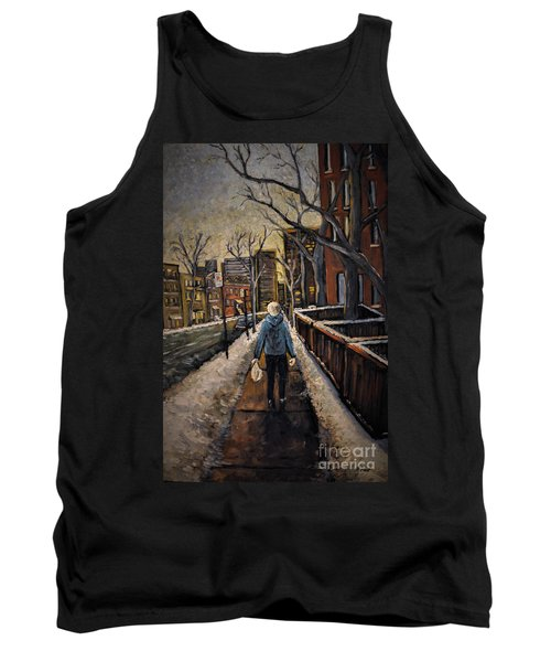 Winter In The City Tank Top