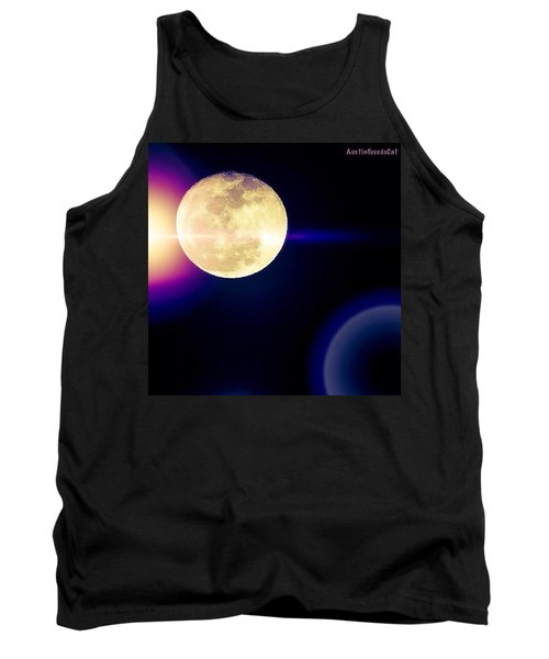 Wouldn't It Be Great If The #moon And Tank Top