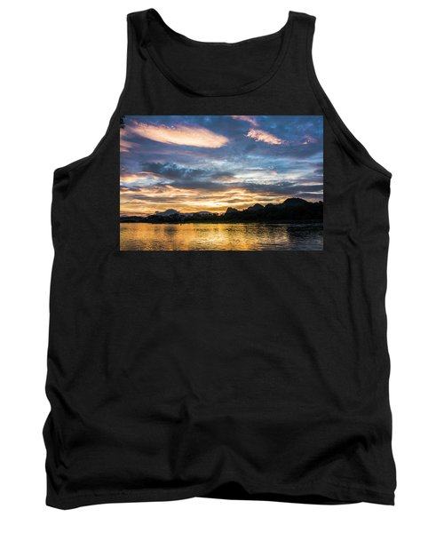 Sunrise Scenery In The Morning Tank Top