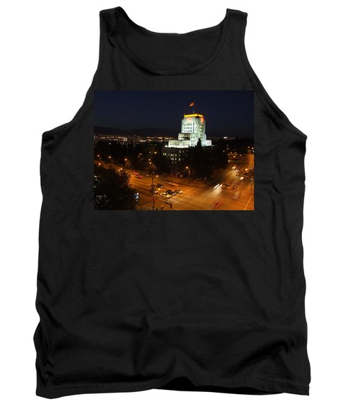 12th And Cambie 1 Tank Top by Mark Alan Perry