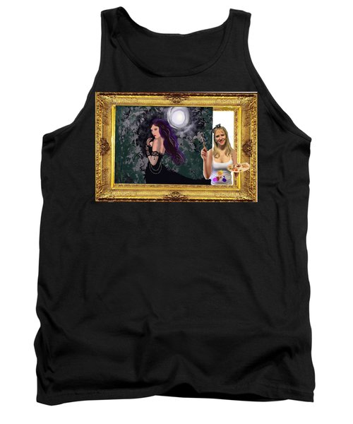 Cover Art For Gallery Tank Top by Diana Riukas