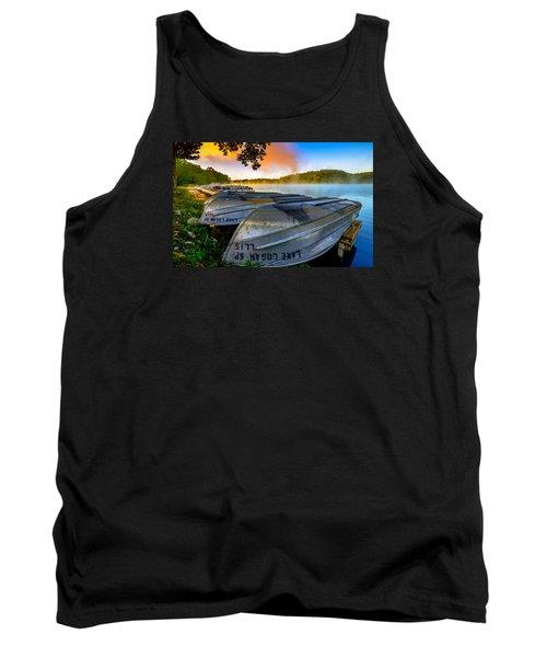 Lake Logan 2 Tank Top by Brian Stevens