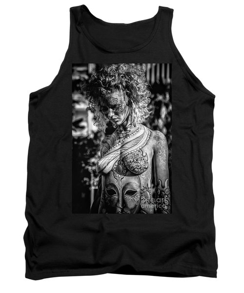 Bodypainting Tank Top by Traven Milovich