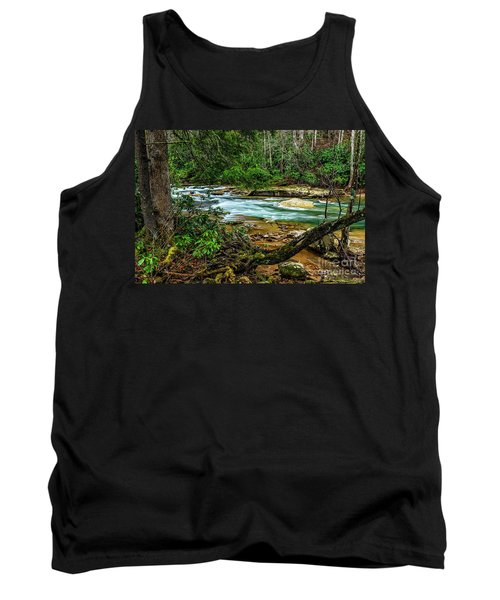 Tank Top featuring the photograph Back Fork Of Elk River by Thomas R Fletcher