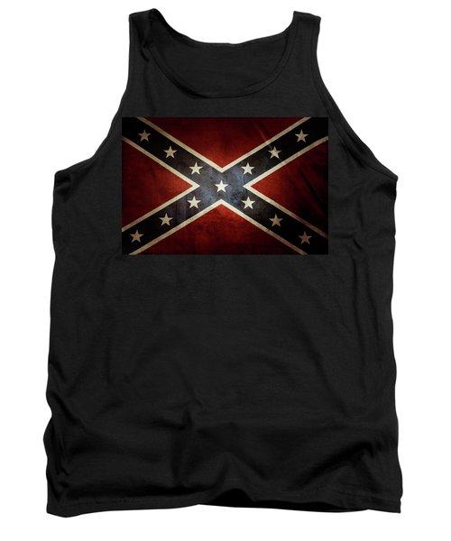 Confederate Flag 12 Tank Top