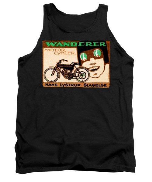 1910 Wanderer Motorcycle Tank Top