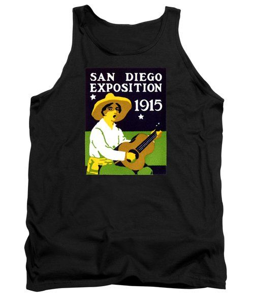1915 San Diego Expo Poster 2 Tank Top