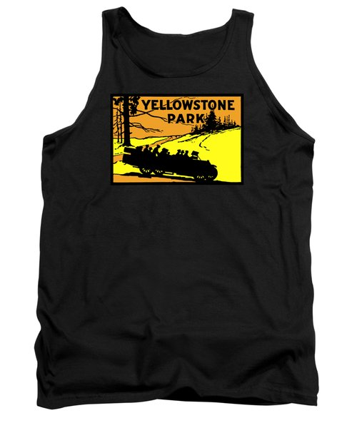 1920 Yellowstone Park Tank Top by Historic Image