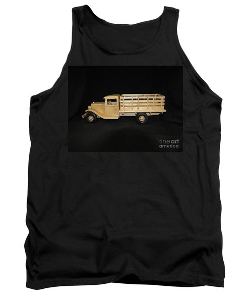 1929 Stake Bed Truck Tank Top by Marilyn Carlyle Greiner