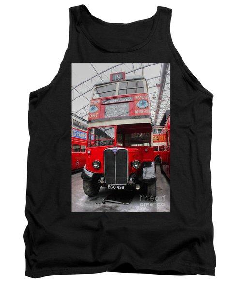 1937 Aec Regent I Bus Stl2377 Tank Top