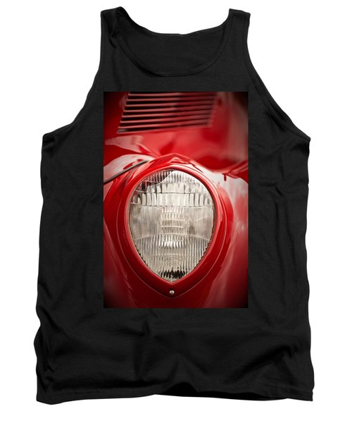 1937 Ford Headlight Detail Tank Top