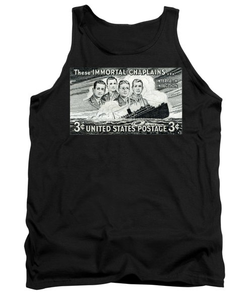 1948 Immortal Chaplains Stamp Tank Top